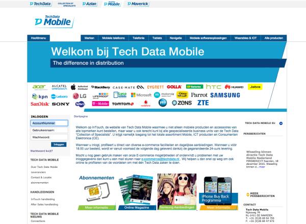 Hole 3: Tech Mobile Data