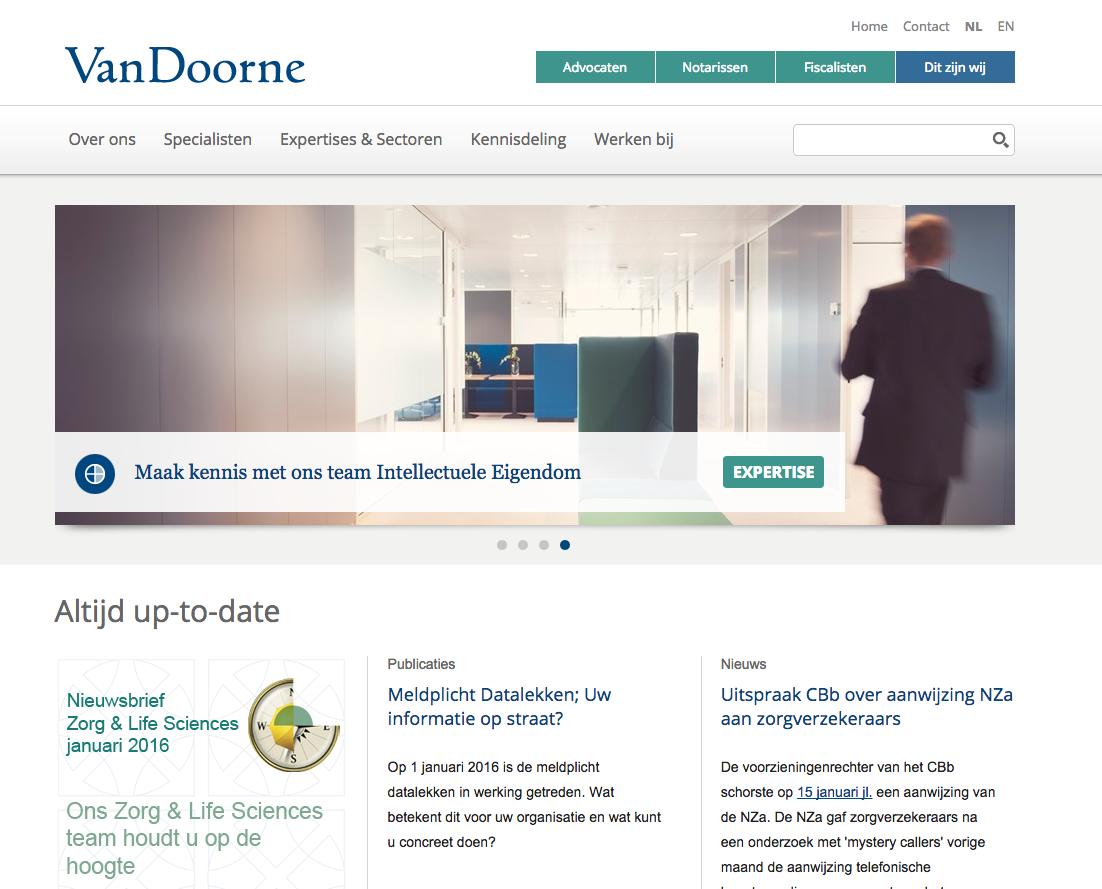 Hole 16: Van Doorne