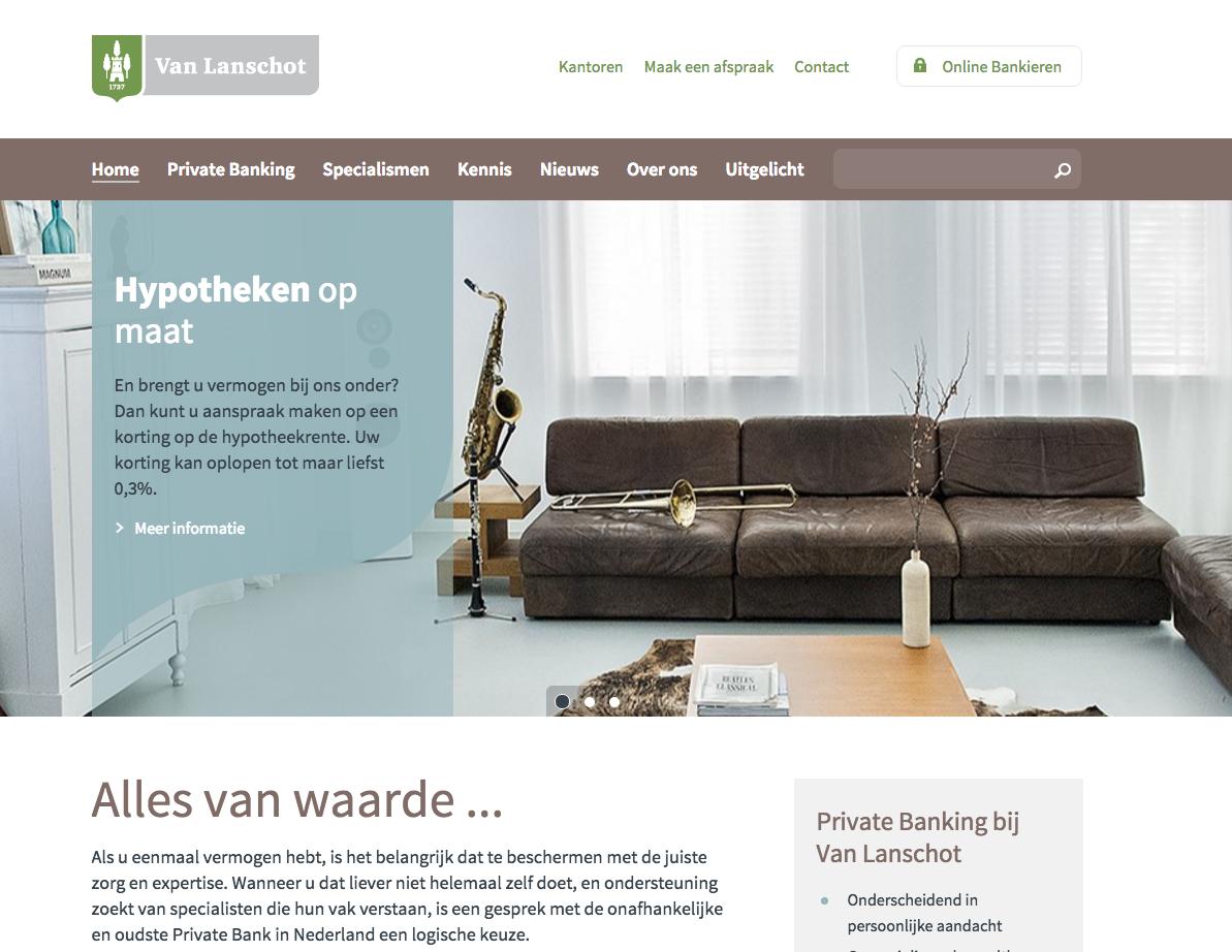 Hole 17: Van Lanschot Bankiers